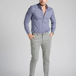 Slim Fit Chino Örme Pantolon