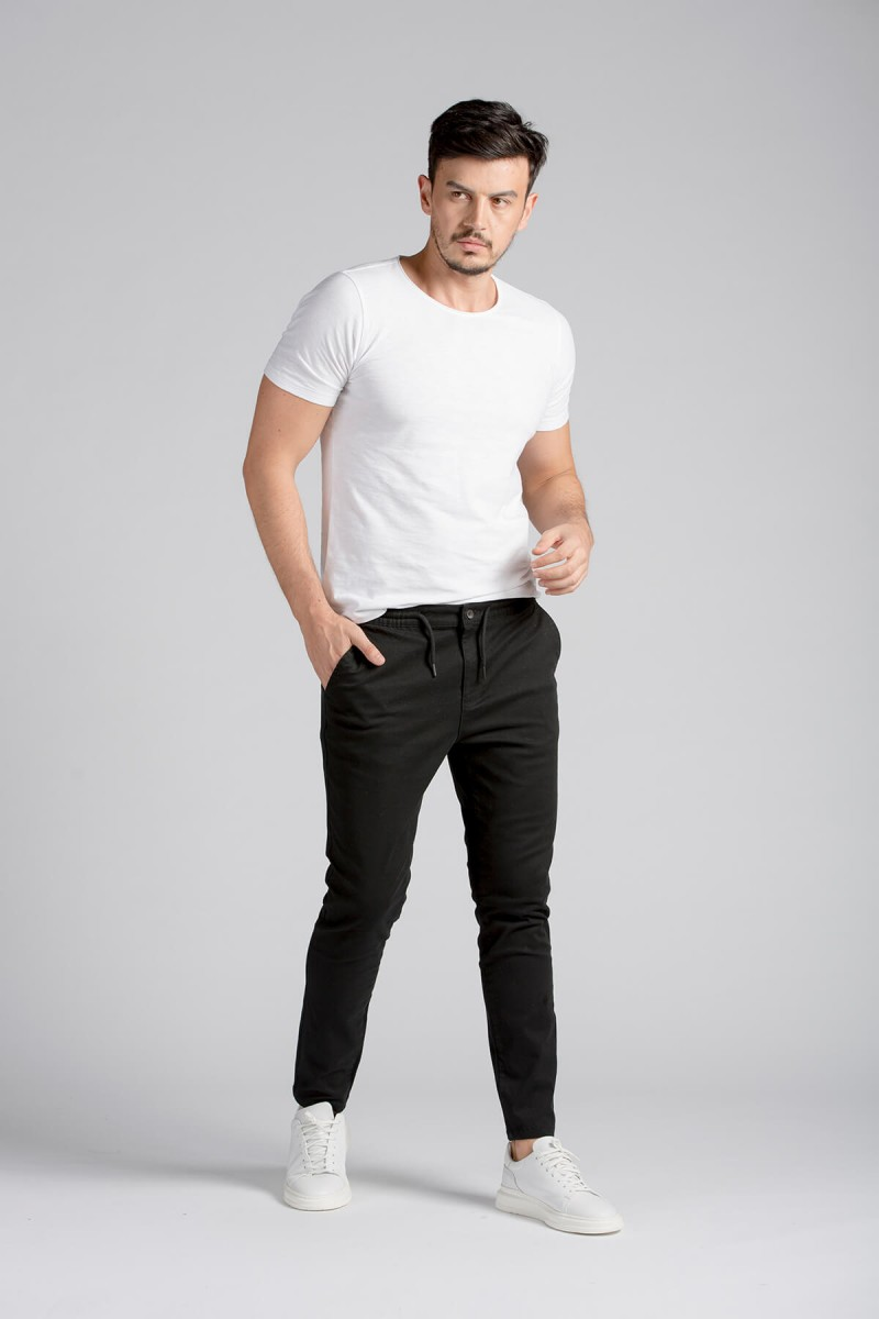 Bej Slim fit Jogger Pantolon